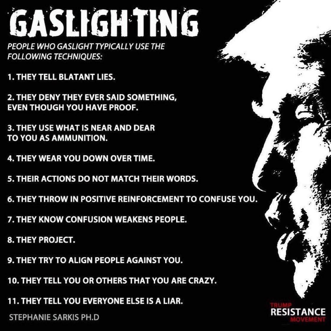 Narcissism, Codependency, Gaslighting, Reality Distortion